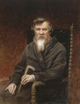 М.П.Погодин. Портрет работы В.Г.Перова