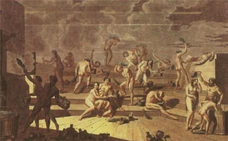 Т. Корнеев Русская баня 1812 г.