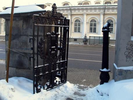 ограда Тюрина - калитка
