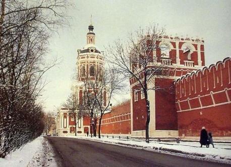 Донской монастырь-общий вид