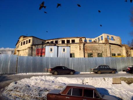 Круговое депо, декабрь 2012