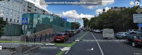Навозный жук на Яндекс-панораме