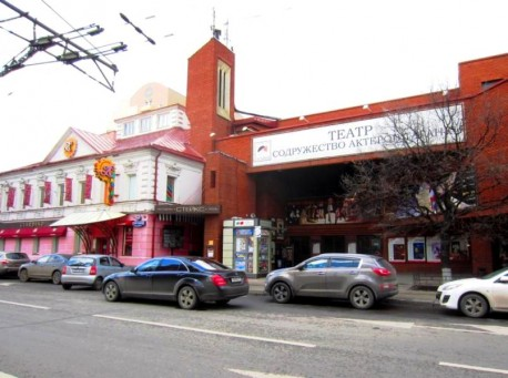 Новое здание. Театр на Таганке