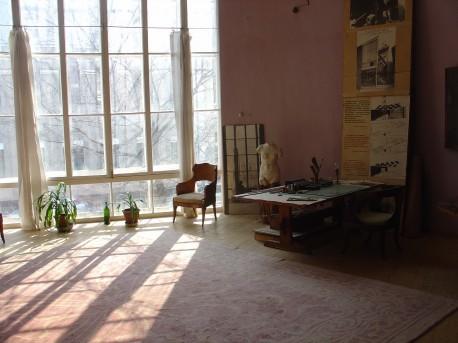 Дом Мельникова гостиная