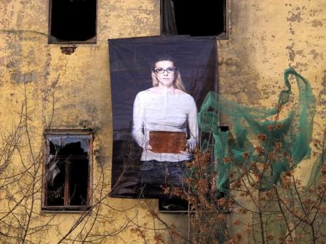 проект Рустама Керемова Архангелы на стене дома Быкова