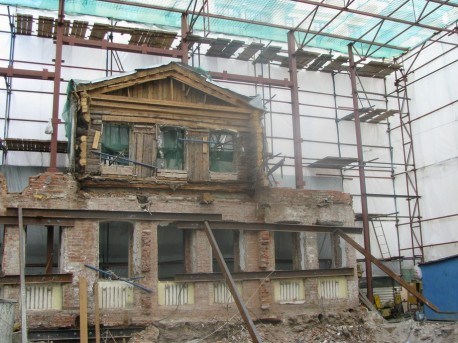 Остатки дома Яковлевых