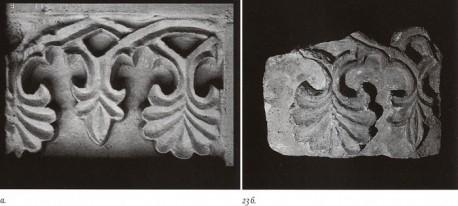 Сравнение фрагментов фриза Старо-Никольского и  московского Благовещенского (1416) соборов, по Г.Евдокимову.