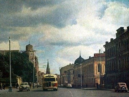 Панорама Воздвиженки в сторону Красной площади - БЫЛО
