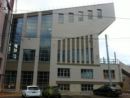 "ДК Русакова после реставрации, окна на фасадах - ""раскрыты"""