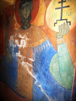 П.Д. Корин. Роспись подземного храма Марфо-Мариинской обители