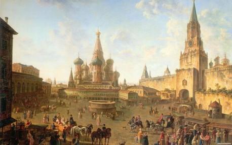 Ф.Я. Алексеев. Красная площадь в Москве. 1801