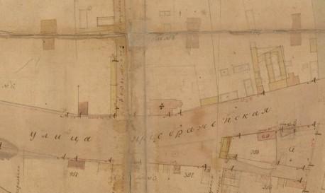 Церковь Петра и Павла в Преображенском 1814