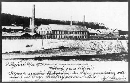Чехия, область Раковник, завод керамической плитки RAKO. 1902. Источник: сайт фирмы RAKO