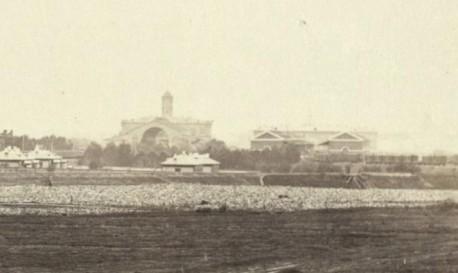 Товарная станция - 1855