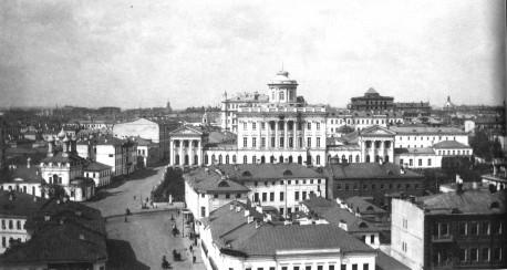 панорама от Боровицкой башни