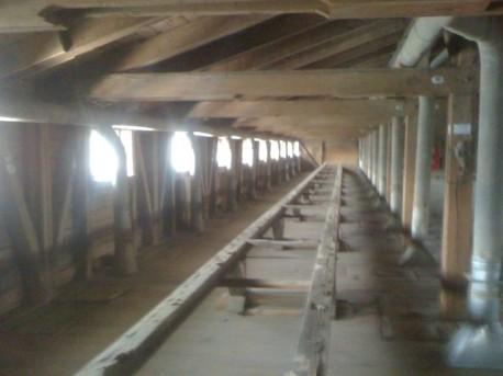 Деревянные конструкции элеватора