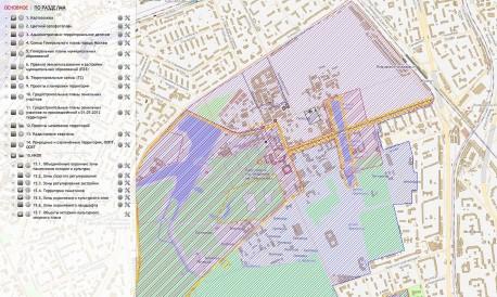 Охранные зоны и территории памятников