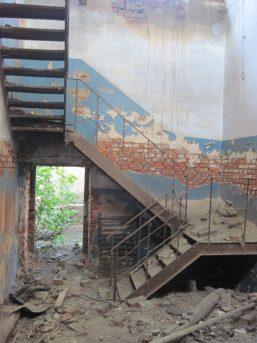 Пост Кожухово - лестница