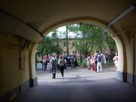 У палат Рагузинского