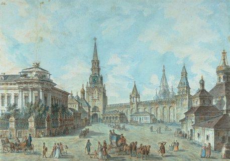 Ф. Алексеев. 1800-1801 гг. Спасские ворота