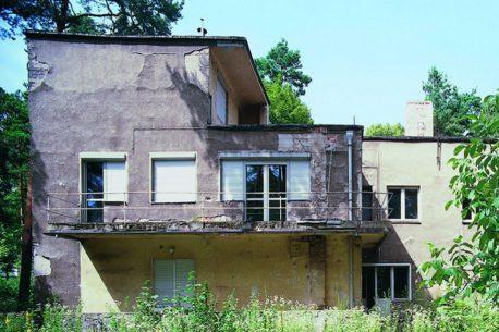 Здания Баухауза в Дессау до реставрации