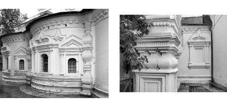 hram-svyatitelya-nikolaya-v-pyizhah-apsidyi-i-fragment-kolonnyi-foto-2010-h-godov