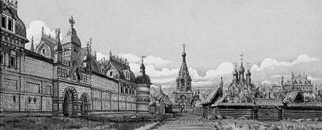 kadashevskiy-tkatskiy-dvor-had-m-kudryavtsev-bumaga-akvarel-xvii-vek