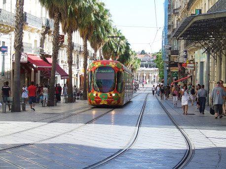 Трамвай в Монпелье (маршрут 2)