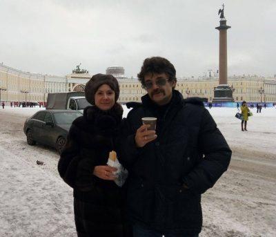 Константин Михайлов и Евгения Твардовская