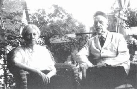 Чета Ильиных. Цюрих. 1954 г.