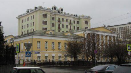 Дом Ильиных на Знаменке