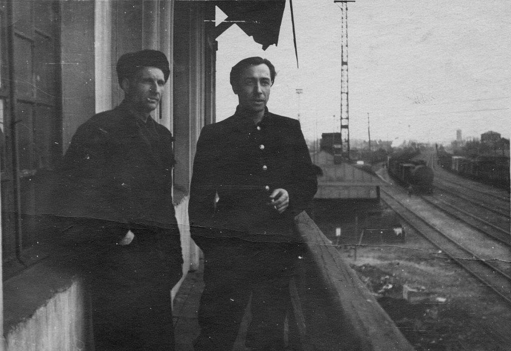 На балконе южного поста 1958 - 1962 гг.