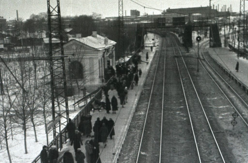 Рабочий Посёлок 1961 год