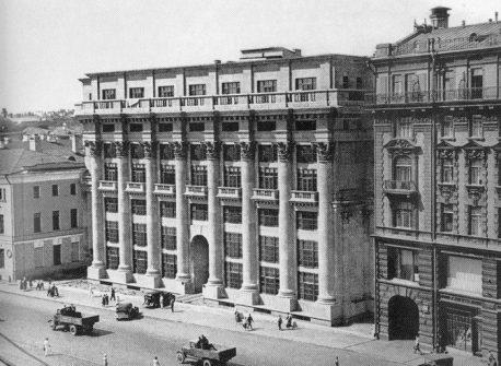 Жилой дом на Моховой (1932-1934)