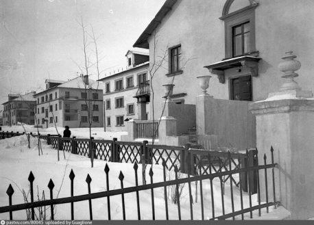 Городок нефтяников, фото 1950