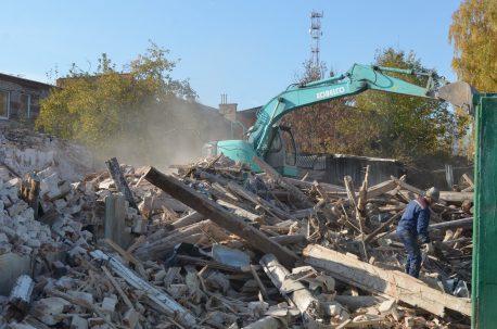 Сносы в Боровске