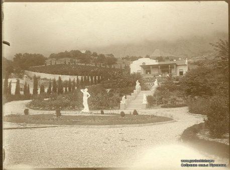 Новый Кучук-Кой. Панорама усадьбы. Фото 1910-х годов. Собрание семьи Жуковских