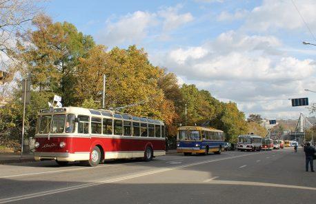 Последний московский парад троллейбусов, 1 октября 2016 года