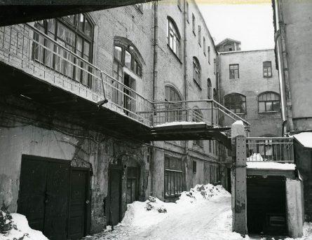Двор Шевалдышевского подворья, архив ЦИГИ
