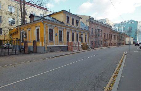 Общий вид Старомонетного переулка