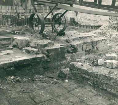 Источник: Беленькая Д.А. Отчет о наблюдениях на строительной площадке в Ипатьевском переулке (Китай-город), 1967 г./ Архив ИА РАН