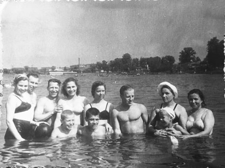 Серебряно-Виноградный пруд, 1950-е