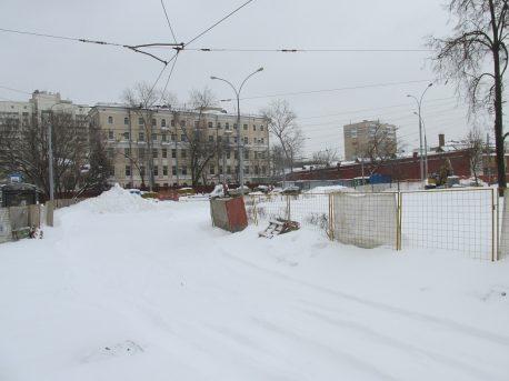 Ремонт кольца на Шаболовке, хотели закончить в ноябре