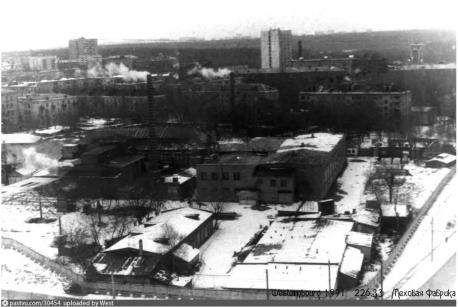 Меховая фабрика. Фото с ресурса pastvu.com