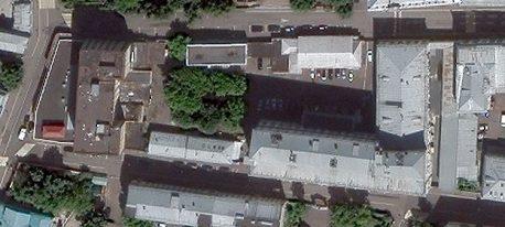 Современный снимок со спутника того же владения